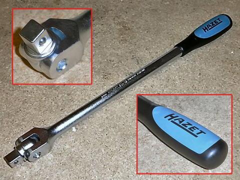 Hazet 8814 3//8 Flexible handle